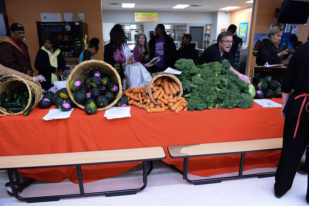 The Joyful Food Market at Martha's Table is bountiful, and ready to serve those in need. (Photos: Martha's Table)