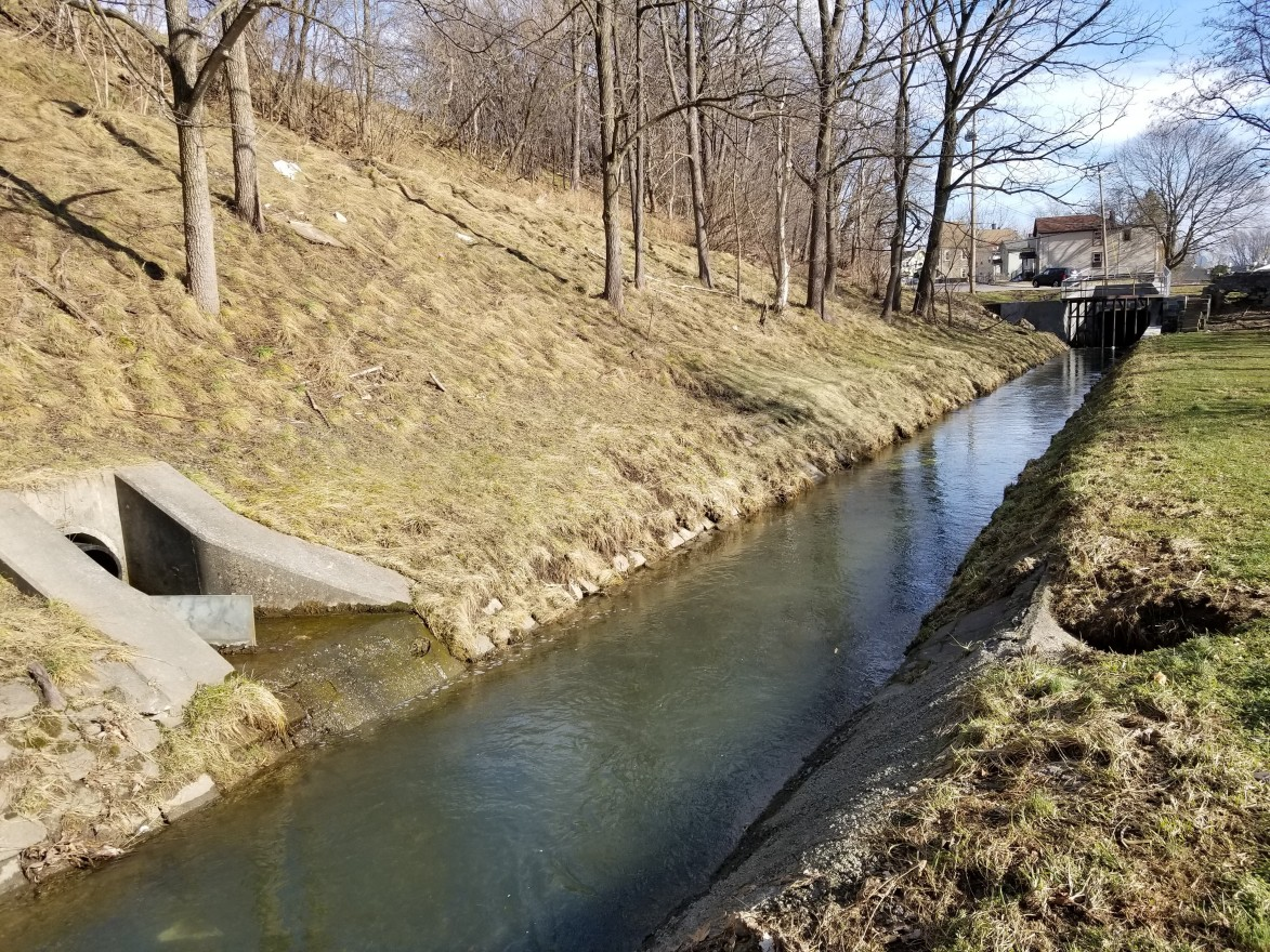 Stormwater and sewage are often spilled into creeks after heavy rains. (Lauren Tarr)