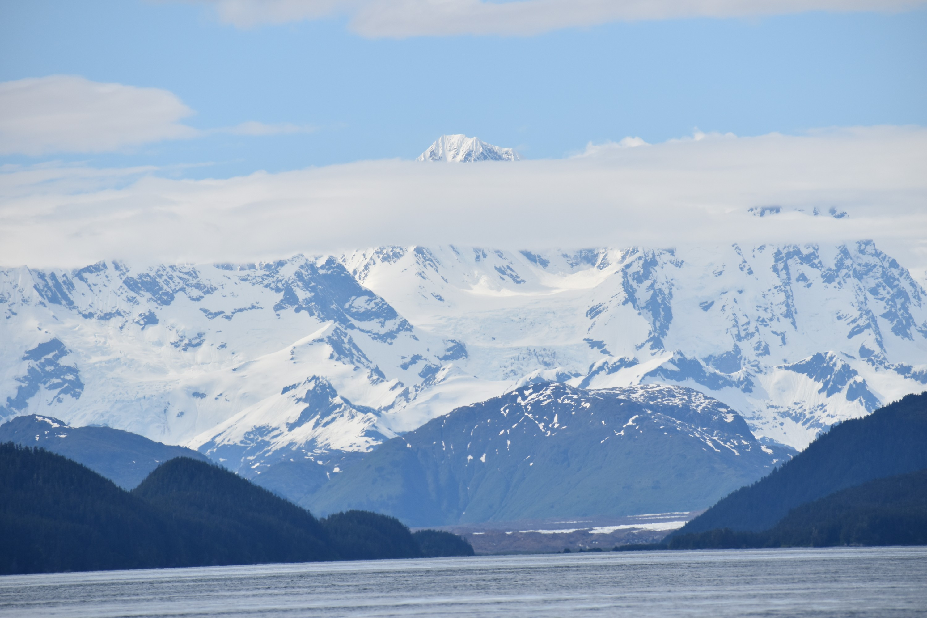 A view of one of Alaska's pristine national parks. (Photos by Ashley Gallagher/George Washington University)