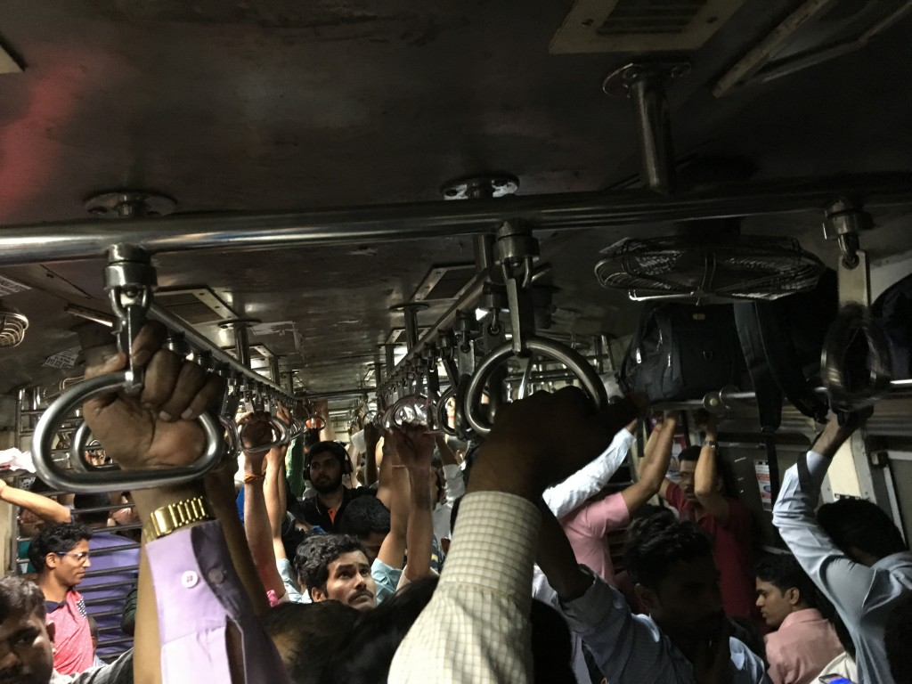 Local train in Mumbai. (Tavish Fenbert)