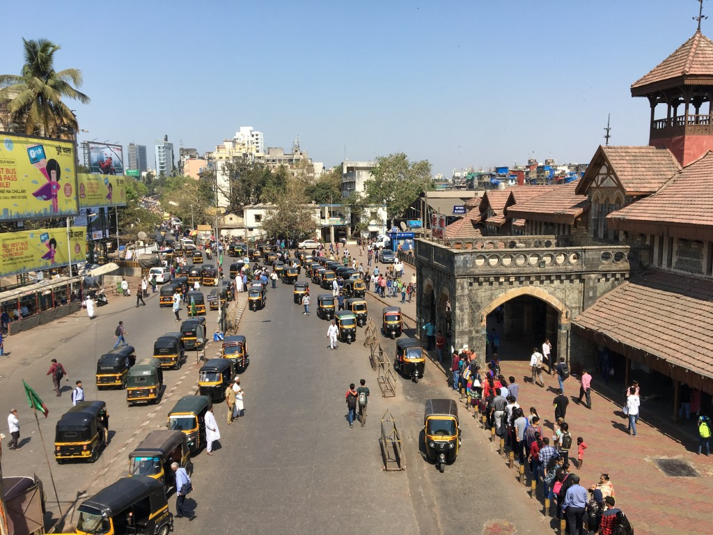Rickshaws in Mumbai. (Tavish Fenbert)