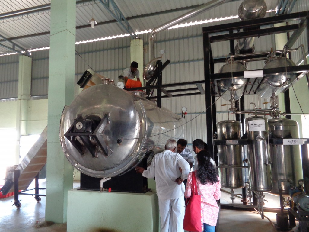 Turmeric processing facility in Sangli, India. (Tavish Fenbert)