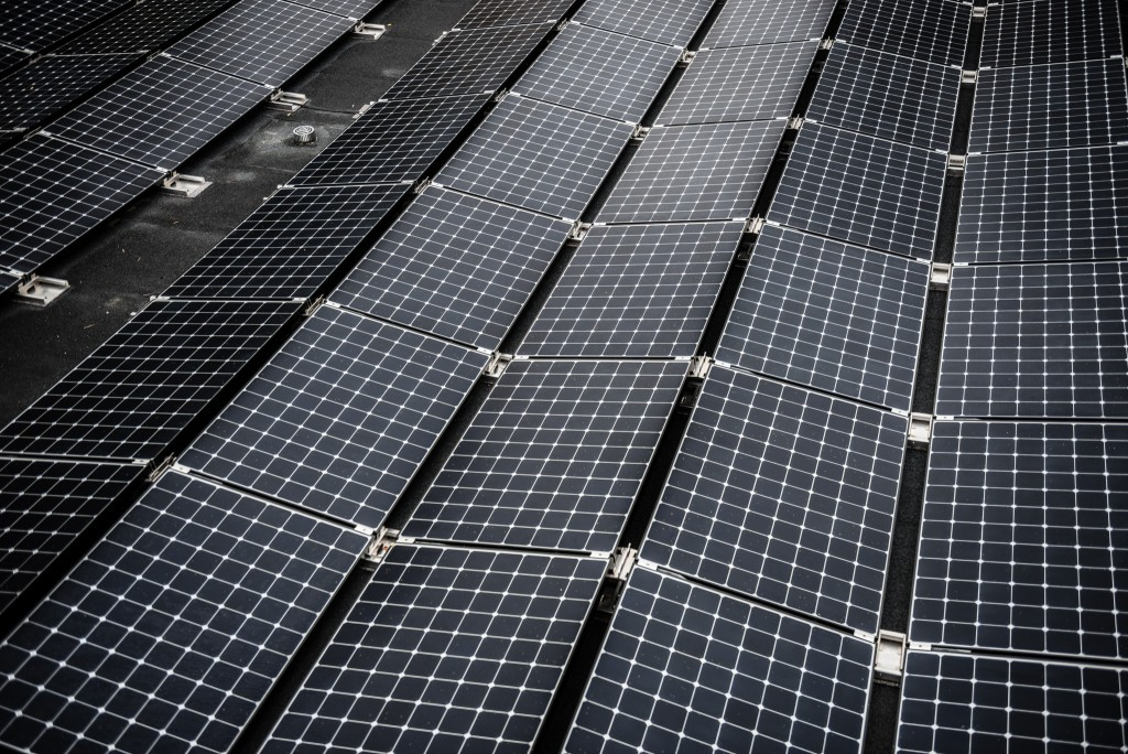 After the renovation, the buildings' expected energy needs will be met by local production of solar panels. The solar panels can supply over 250.000kWh, or 41kWh/m2 each year. (Powerhouse)