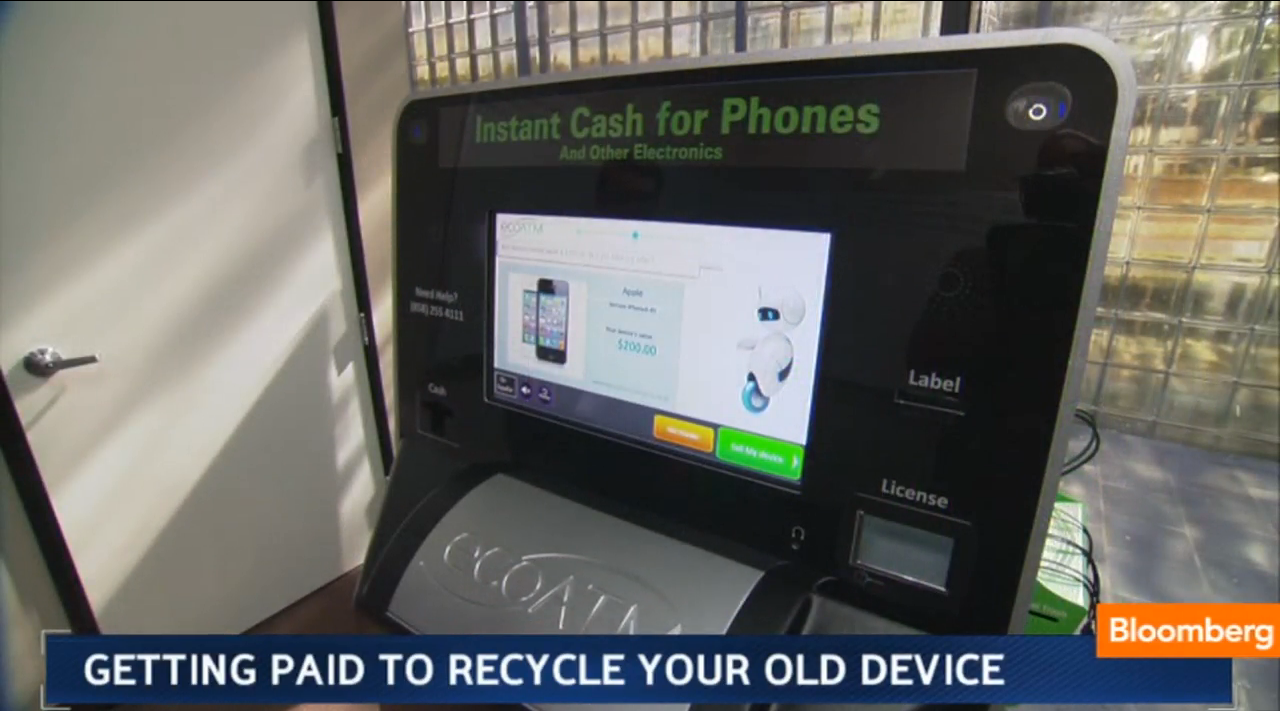 Getting Paid on the Spot to Recycle Your Own Phone | Planet Forward