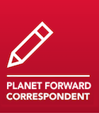 Planet Forward correspondent badge