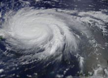 Hurricane Maria satellite image