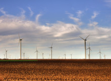 Kansas wind farm
