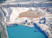 Northern White Sand mine, North Utica, Illinois
