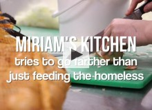 Miriam's Kitchen is changing soup kitchen culture.