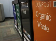 Composting food waste at American University