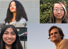 Headshots of the 2021-22 Planet Forward Comcast NBCUnivesal Storytelling Fellows