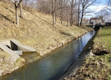 Stormwater and sewage are often spilled into creeks after heavy rains.