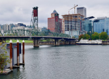 Willamette River in Portland, Oregon