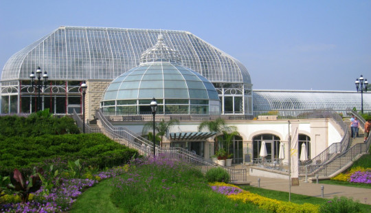 Phipps Conservatory welcome center