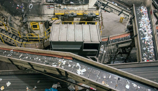 recycling conveyer belts