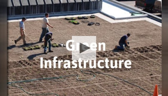 A brief look at Green Infrastructure technology in Syracuse.