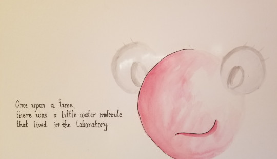 The little water molecule introduces herself