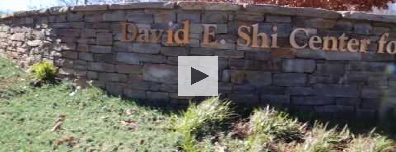 The David E. Shi Center for Sustainability goes green.