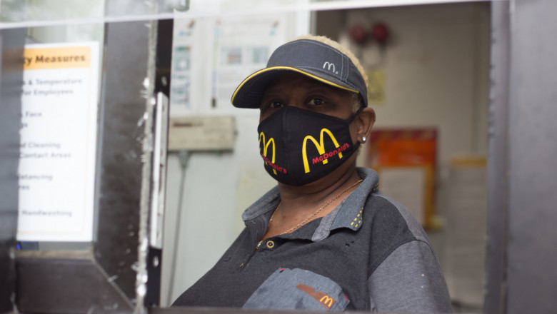 McDonald's essential worker