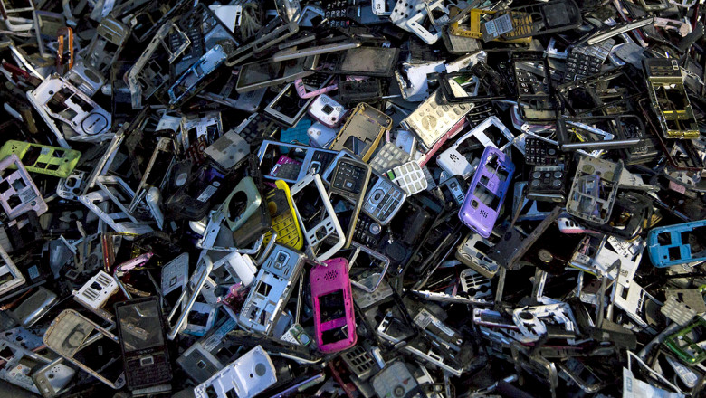 E-waste piles up in China