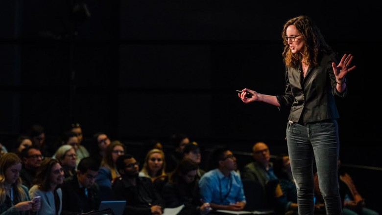 The Climate Editor for The New York Times, Hannah Fairfield, showed some of the new ways we can visualize data and how it can engage wider audiences.