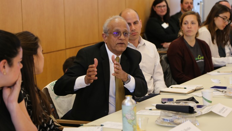 National Institute of Food and Agriculture Director Sonny Ramaswamy discusses the future of agriculture.
