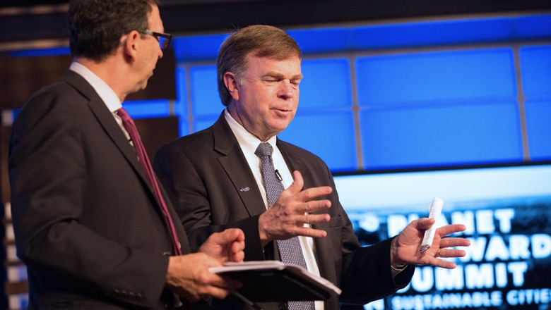 Huntsville, Ala., Mayor Tommy Battle offered to bring students to Huntsville to tell the story of the city.