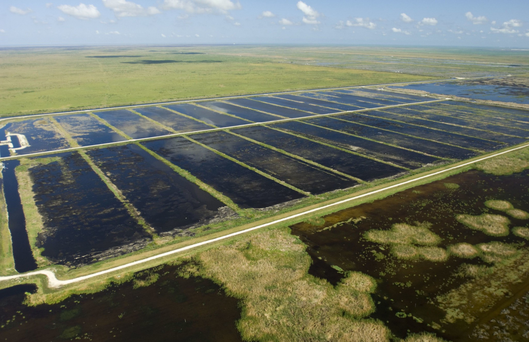 Stormwater treatment in the Florida Everglades