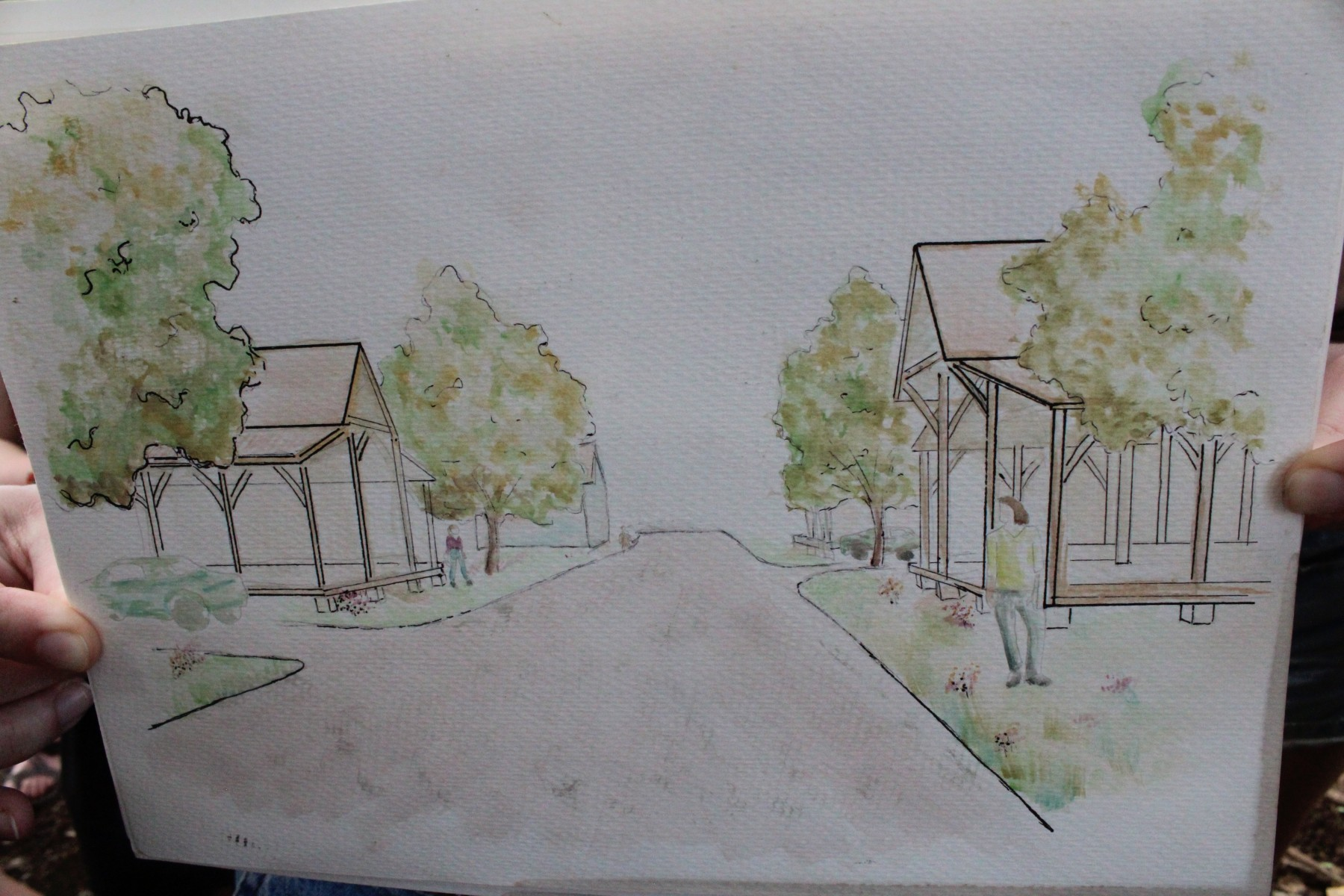 Carriage houses sketch