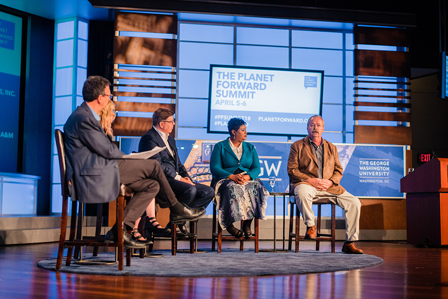 Sustainability Story Panel 2018 Summit