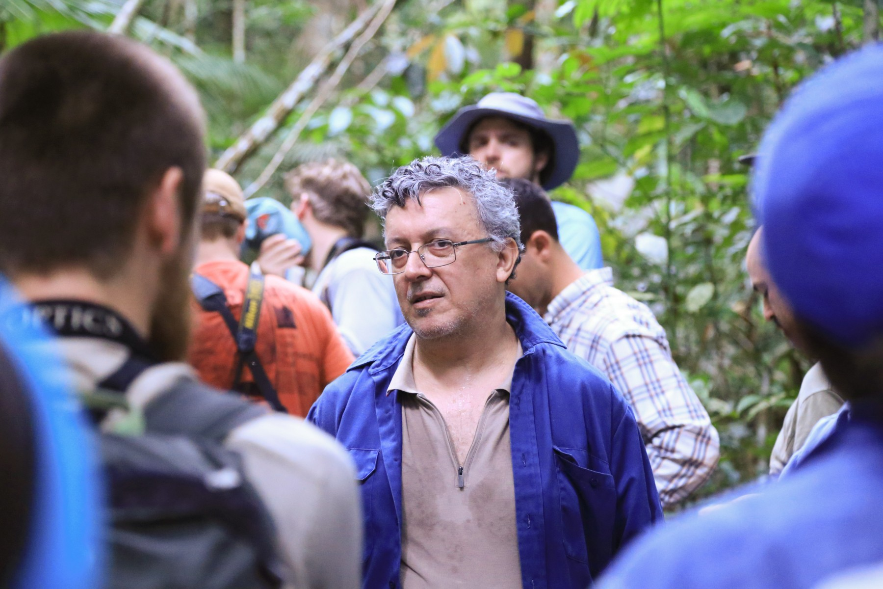 rainforest scientists in the Amazon