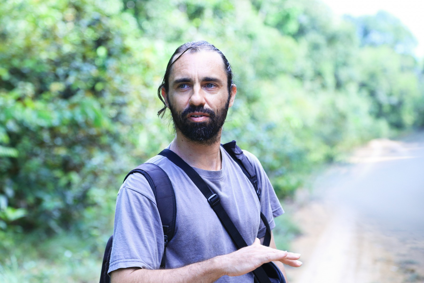 Rainforests researcher Cassiano Gatto