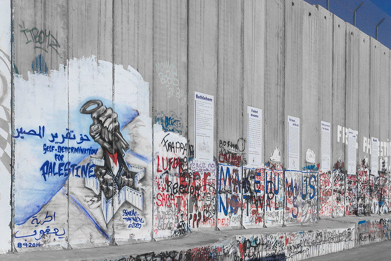 Israel-West Bank barrier wall