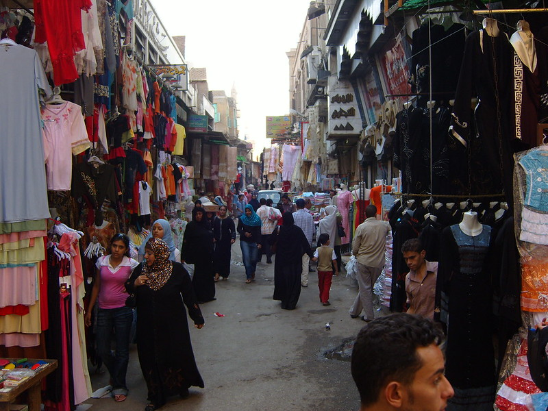 Shopping in Cairo